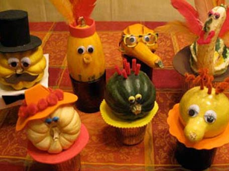Thanksgiving mishegas of motherhood for Easy thanksgiving centerpiece crafts