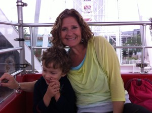 ferris wheel ellie with luke