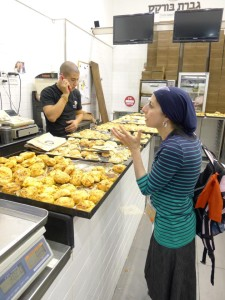 Chana hunts down the best  burekas for us to try.